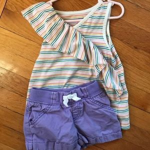 Summer top and short